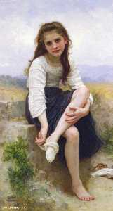 William Adolphe Bouguereau - Перед ванной