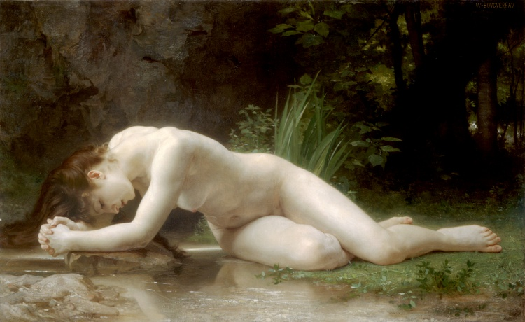 Biblis, 1884 по William Adolphe Bouguereau (1825-1905, France) | Репродукции Произведений Искусства William Adolphe Bouguereau | WahooArt.com