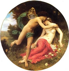 William Adolphe Bouguereau - Амур и Психея