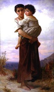 William Adolphe Bouguereau - Молодой цыган