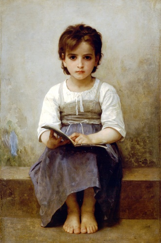 Жесткий урок по William Adolphe Bouguereau (1825-1905, France) | WahooArt.com