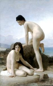 William Adolphe Bouguereau - Два купальщики