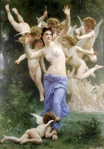 William Adolphe Bouguereau - Гнездо