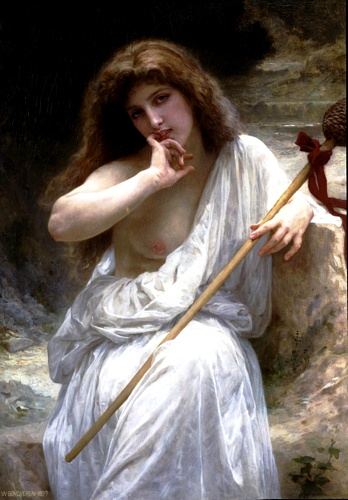 Mailice, масло по William Adolphe Bouguereau (1825-1905, France)