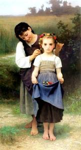 William Adolphe Bouguereau - PARURE поля