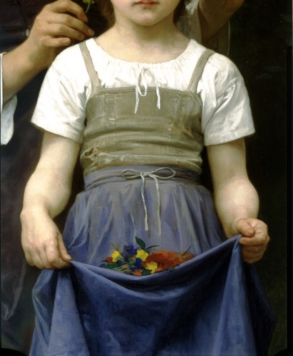 Parure Елисейских BT право по William Adolphe Bouguereau (1825-1905, France) | WahooArt.com