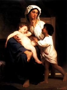 William Adolphe Bouguereau - Сон