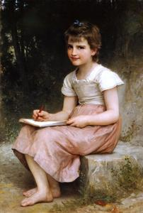 William Adolphe Bouguereau - Призвание 1896