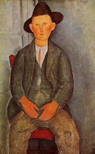 Amedeo Modigliani - Мужичок