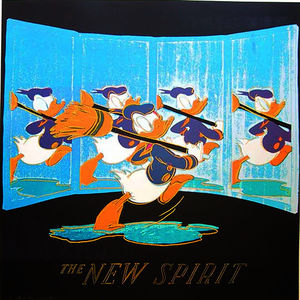 Andy Warhol - New Spirit дональд  Утка