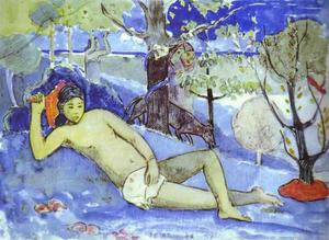 Paul Gauguin - Те Арий Vahine Королевы