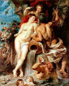 Peter Paul Rubens - Союз самого земного а вода