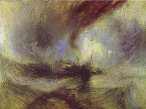 William Turner - метель - Steam-Boat от Harbour's Рот