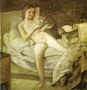 Balthus (Balthasar Klossowski) - восход солнца