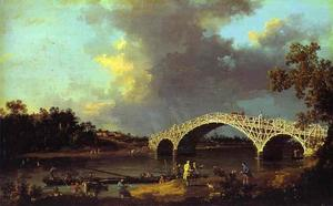 Giovanni Antonio Canal (Canaletto) - Старый мост Уолтон