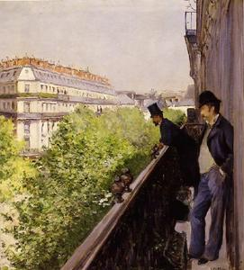Gustave Caillebotte -   Балкон