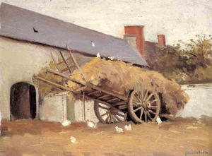 Gustave Caillebotte - Loaded Haycart