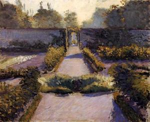 Gustave Caillebotte - Огород, Yerres