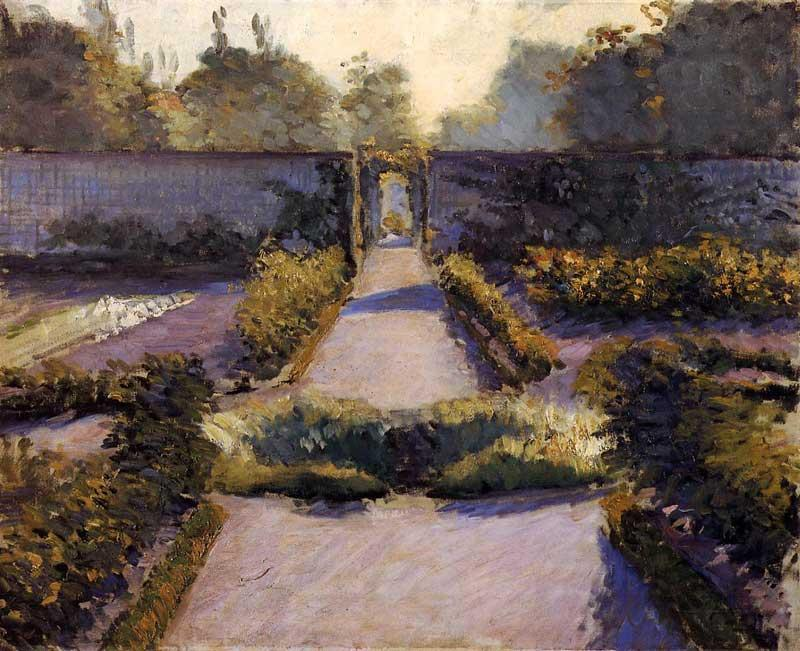 Огород, Yerres, 1877 по Gustave Caillebotte (1848-1894, France)