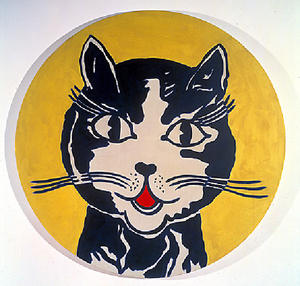 Roy Lichtenstein - Laughing кошка