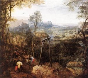 Pieter Bruegel The Elder - Сорока на Gallow