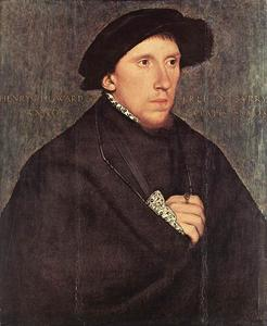 Hans Holbein The Younger - Портрет Генри Говард ту  Граф  самого  Суррей