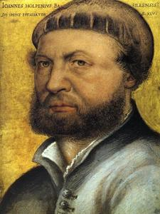 Hans Holbein The Younger - Автопортрет