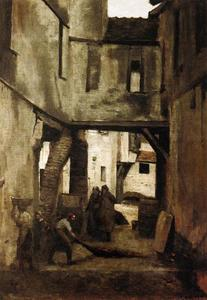 Jean Baptiste Camille Corot - Tanneries Мант