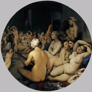 Jean Auguste Dominique Ingres - Турецкая баня