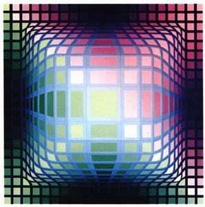 Victor Vasarely - VY-47-E