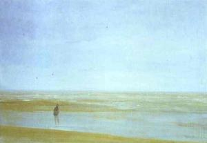 James Abbott Mcneill Whistler - море и дождь