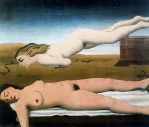 Paul Delvaux - sleep1
