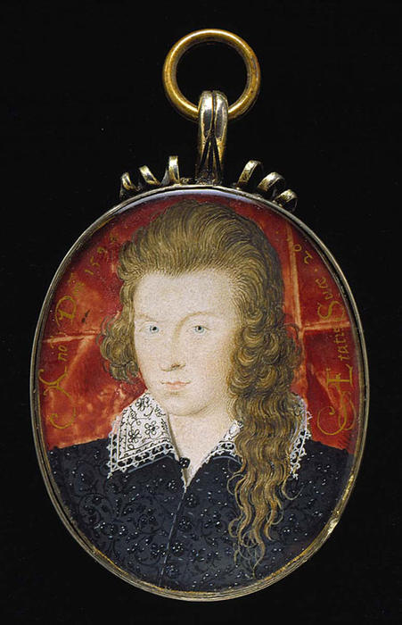 Генри Wriothesley, 3-й граф Саутгемптон по Nicholas Hilliard (1577-1619, United Kingdom)