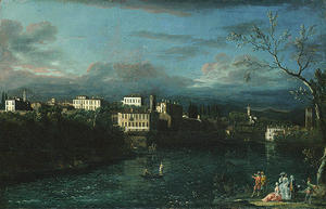 Bernardo Bellotto - Ваприо-д Адда