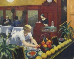 Edward Hopper - Столы для дамы