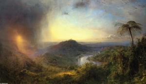Frederic Edwin Church - Долина Сент-Томас, Ямайка