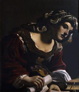 Guercino (Barbieri, Giovanni Francesco) - Сибилла