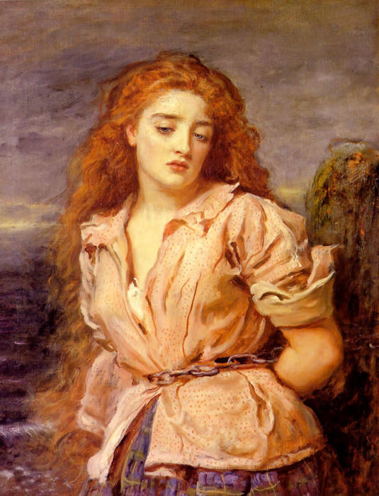 Matyr в Солуэй, 1871 по John Everett Millais (1829-1896, United Kingdom) | Репродукции Музея | WahooArt.com