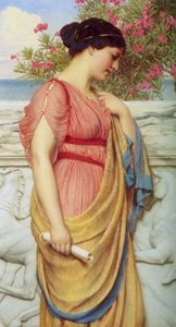 John William Godward - Сафо