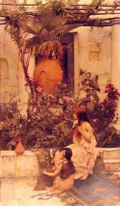 John William Waterhouse - В Капри