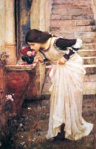 John William Waterhouse - В Shrine