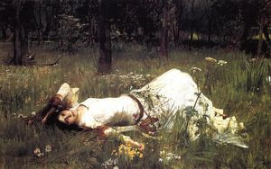 John William Waterhouse - Офелия 1
