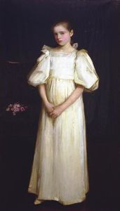 John William Waterhouse - Портрет Филлис Waterlo