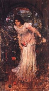 John William Waterhouse - Леди Shalott Учёба