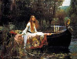 John William Waterhouse - Леди Shalott