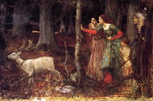 John William Waterhouse - мистик вуд