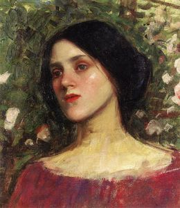 John William Waterhouse - Роза Бауэр