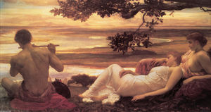 Lord Frederic Leighton - Идиллия