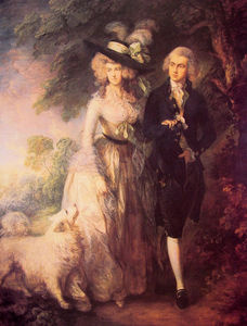 Thomas Gainsborough - Г-н и г-жа Уильям Халлетт