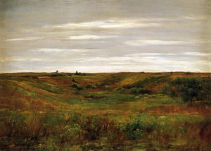 William Merritt Chase - ландшафт -      Шиннекок  юдоль